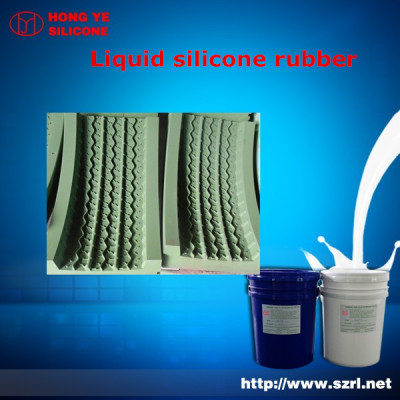 liquid platinum cured silicone rubber for tire mold manufacturer
