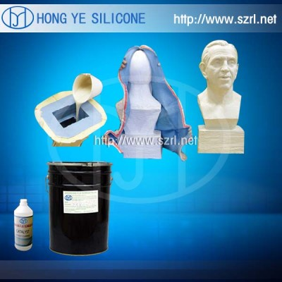 Mould making liquid silicone rubber for sculpture molds