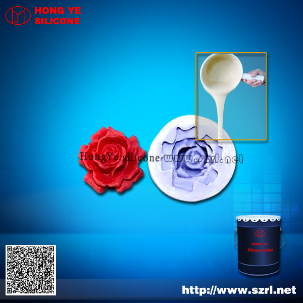 Addition liquid silicone rubber for candle molds