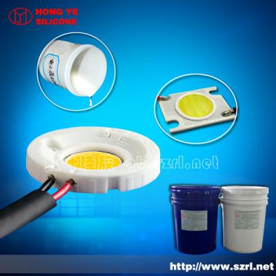 Fluidity liquid silicone rubber for gel waterproof electric
