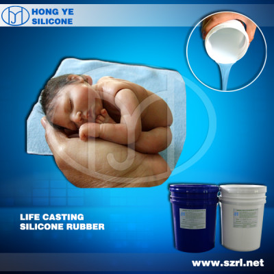 Medical silicone rubber to make reborn baby dolls
