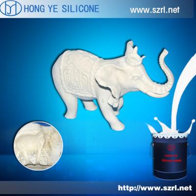 Liquid mold silicon for resin ornaments