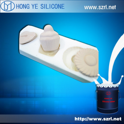 Cookie mold making silicone rubber