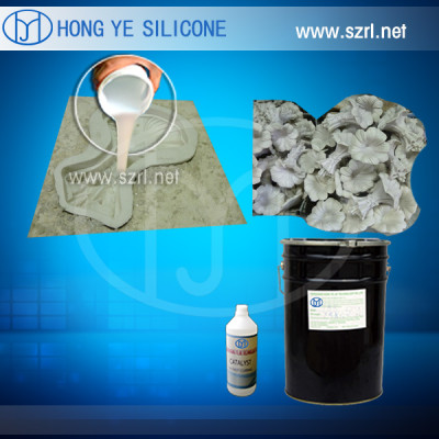 liquid silicone rubber for sculpture molds