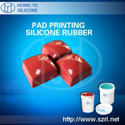 Pad printing Liquid Silicone