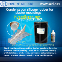 silicone rubber  for  plaster statues making