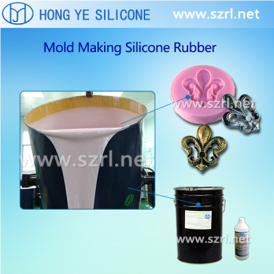 RTV-2 silicone for moulds for plastic toys