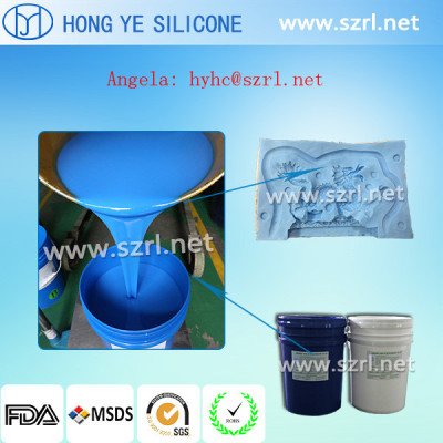 Decorative article mold making rubber