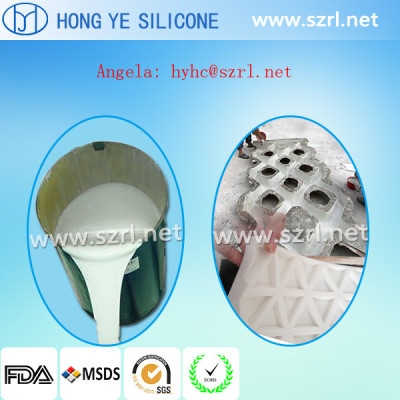 Silicon rubber for gypsums statues