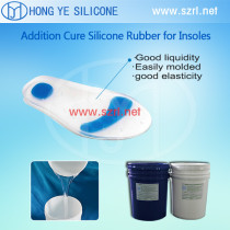 Medical grade silicone for orthotic insoles for health