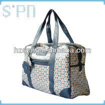 2013 New design PU colorful bulk capacity travelling bag