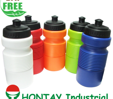 2013 new design BPA FREE plastic stackable promotion sports bottle