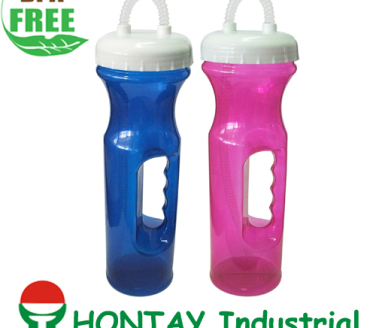 2013 new design BPA FREE handgrip plastic water bottle suitable for promotion