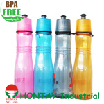 2013 new design BPA FREE plastic water bottle suitable for promotion