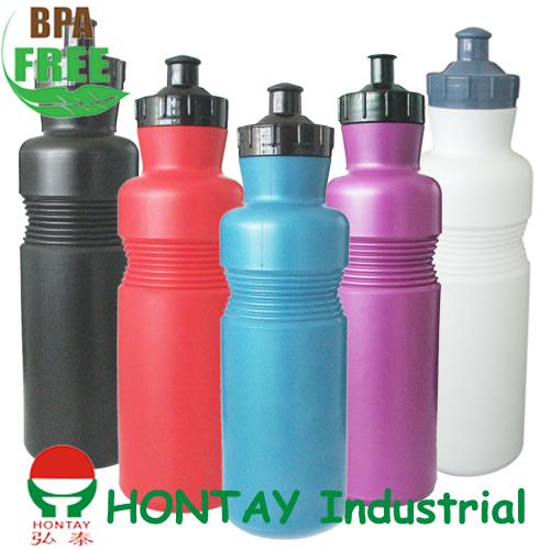 Newly Weds Foods Logo: BPA FREE PE Sports Bottle Sports Water Bottle Plastic