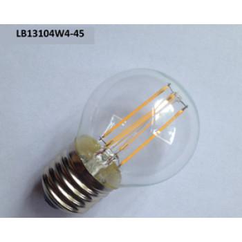 4W led filament bulb light LB13104W4-45