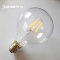 6W led filament bulb light LB13206W6-95