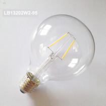 2W led filament bulb light LB13202W2-95