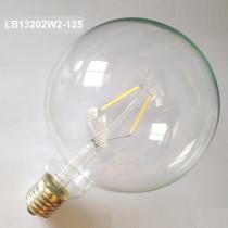 2W led filament bulb light LB13202W2-125
