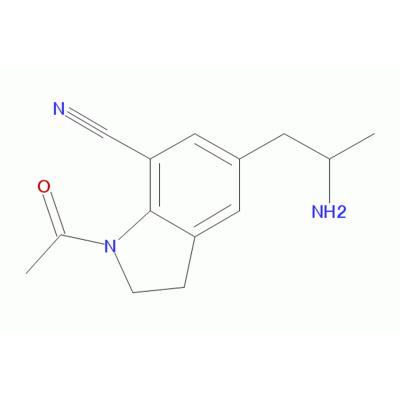 1-乙酰基-5-(2-氨基丙基)-2,3-二氢-7-氰基吲哚