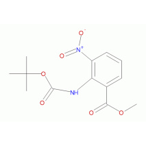 2-叔丁氧基-2-甲酰胺-3-硝基苯甲酸甲酯