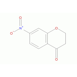 7-硝基-4-二氢色原酮