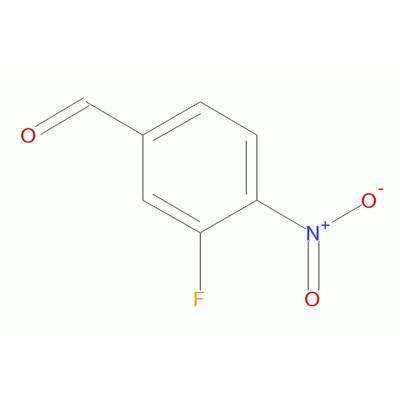 3-氟-4-硝基苯甲醛