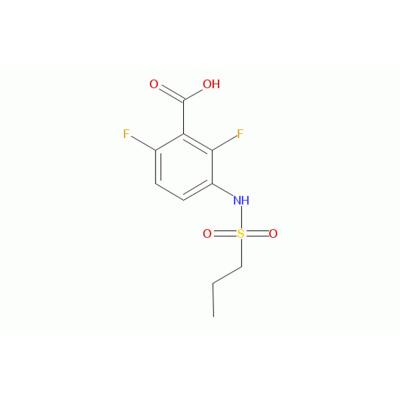 2,6-二氟-3-丙基磺酰胺基苯甲酸