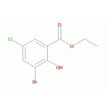 3-溴-5-氯-2-羟基苯甲酸乙酯
