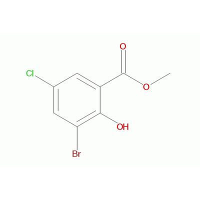 3-溴-5-氯-2-羟基苯甲酸甲酯