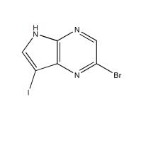 3-碘-5-溴-4,7-二氮杂吲哚