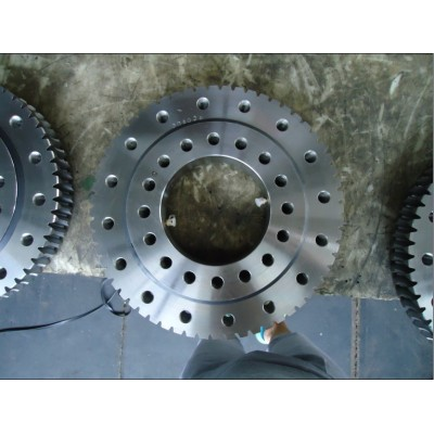 sing row four point  contact ball slewing bearing