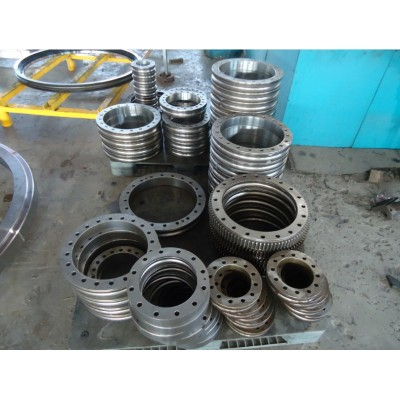 small crossed roller slewing ring bearing KBCB120