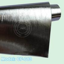 1.52x30m chrome brush CF-017 silver