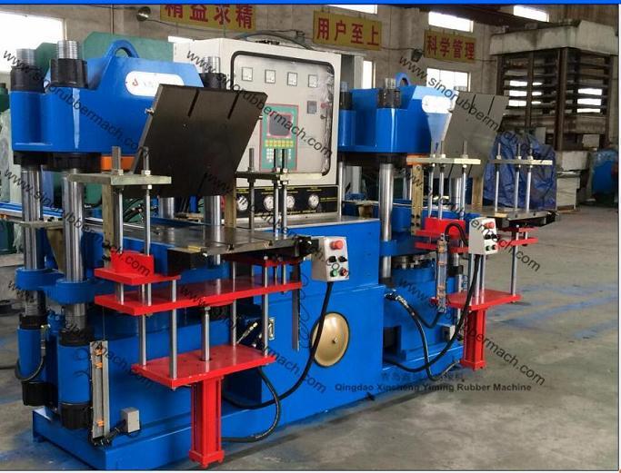 2RT Mold Open Rubber Molding Press,Rubber Machine Manufacturer Qingdao Xincheng Yiming