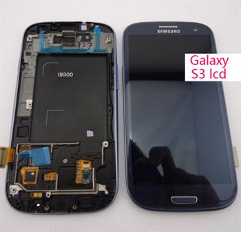 Mobile Phone LCD with Touch Screen Digitizer for Samsung Galaxy S3 I9300 LCD Repair