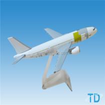 SUDAN logo 18cm A300 model aircraft