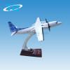 Emulational scale 1:105 fokker 50 plane model artificial craft