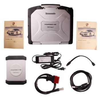 Porsche Piwis Tester II with CF30 Laptop