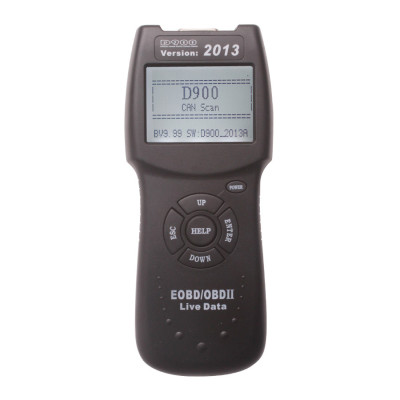 D900 CANBUS OBD2 Code Reader V2013.1 Code Reader Fault Diagnostic Scanner