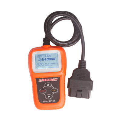 Memoscan Mini U581 CAN OBDII EOBDII Reader