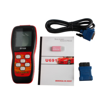 U691 Universal Oil Reset UIFTECH U691 OBDII Code Reader
