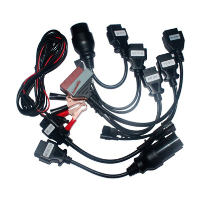 Autocom Car diagnostic Cable full set