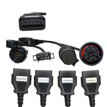 full set Autocom CDP Trucks Cable