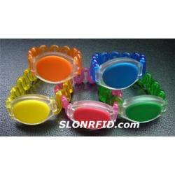 Silastic браслет HF RFID метки