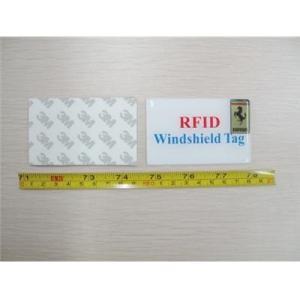 Pare-brise RFID Tag