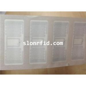 Papier couché 860 ~ 960MHz RFID UHF Tag label pour la gestion Apparel