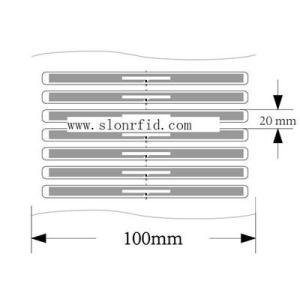 860 ~ 960MHz livre Tag RFID pour la gestion Bibliothèque Smart Tags (SR3020)