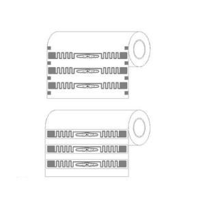 UHF Impinj E51 autocollant RFID Tags, 860 ~ 960MHz RFID Tag