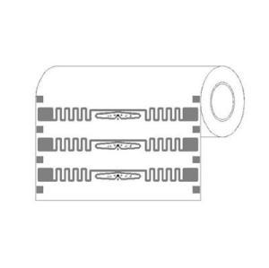 PET / Papier couché RFID Balises, UHF Impinj Autocollant E51 Tag